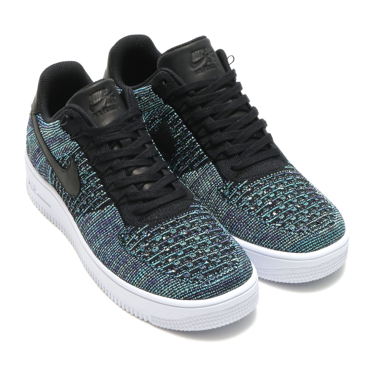 buy popular 7f17e de6f1 NIKE AF1 ULTRA FLYKNIT LOW QS (air force 1 ultra fly knit low QS) (VAPOR  GREEN BLACK) 17SP-S
