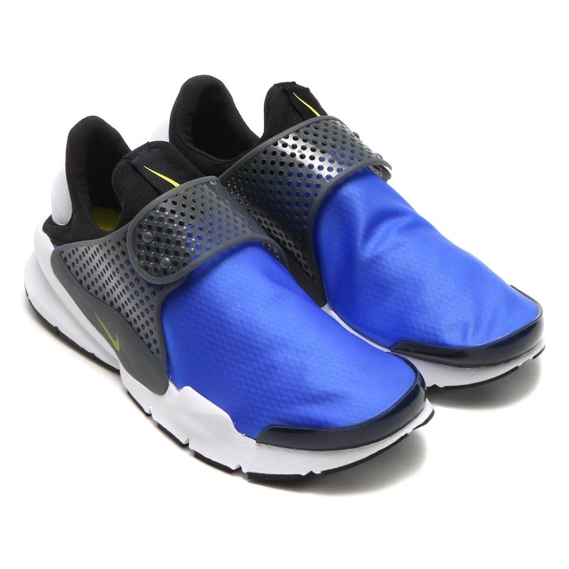 NIKE SOCK DART SE(ナイキ ソックダート SE)(PARAMOUNT BLUE/ELECTROLIME-BLACK-DK GREY-WHITE)【メンズ レディース スニーカー】17SP-S