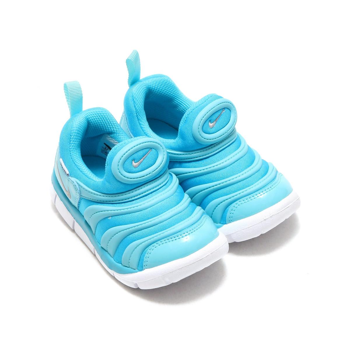 feb76ab5aed3 NIKE DYNAMO FREE (TD) (Nike dynamo-free TD) (CHLORINE BLUE METALLIC SILVER)  17SU-I