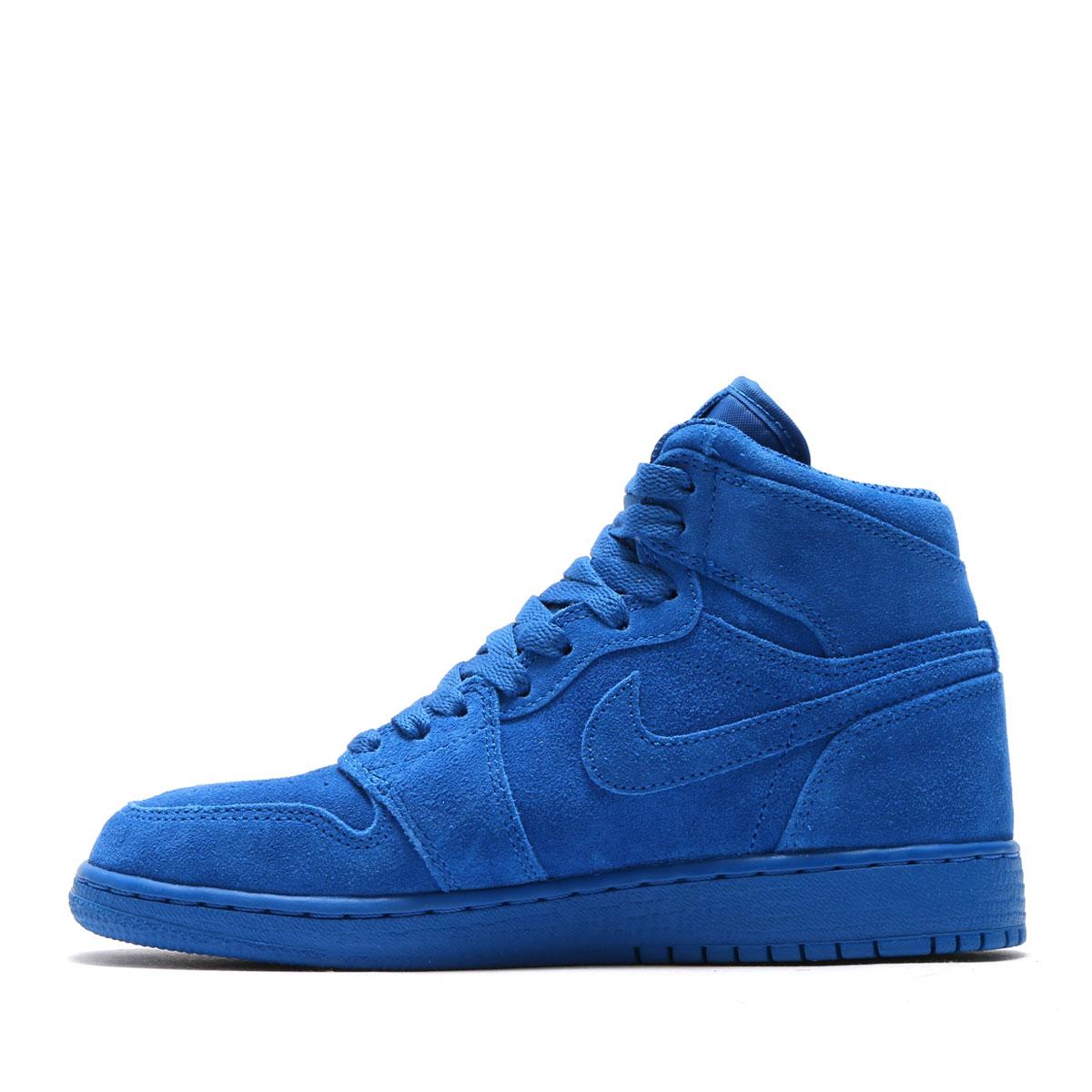 a6832034d783 NIKE AIR JORDAN 1 RETRO HIGH BG (Nike Air Jordan 1 nostalgic high BG) (TEAM  ROYAL TEAM ROYAL) 17SU-I