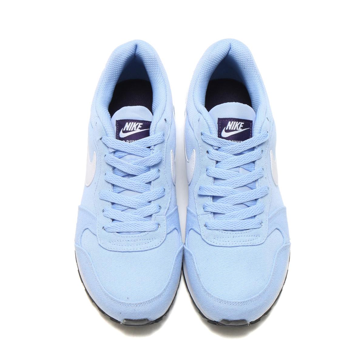NIKE WMNS MD RUNNER 2 (Nike women MD runner 2) ALUMINUM/WHITE-PURPLE DYNASTY 17SU-I