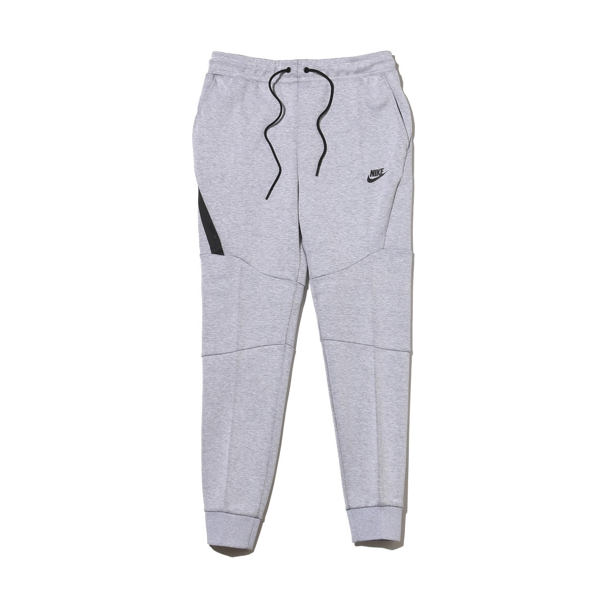 NIKE AS M NSW TCH FLC JGGR (Nike technical center fleece jogger underwear) WHITE/HTR/BLACK 17SU-I