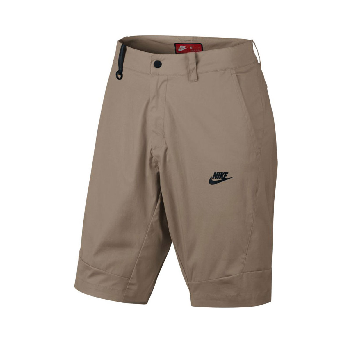 NIKE AS M NSW BND SHORT WVN(死亡耐克砰呜呜短)KHAKI/BLACK 17SU-I