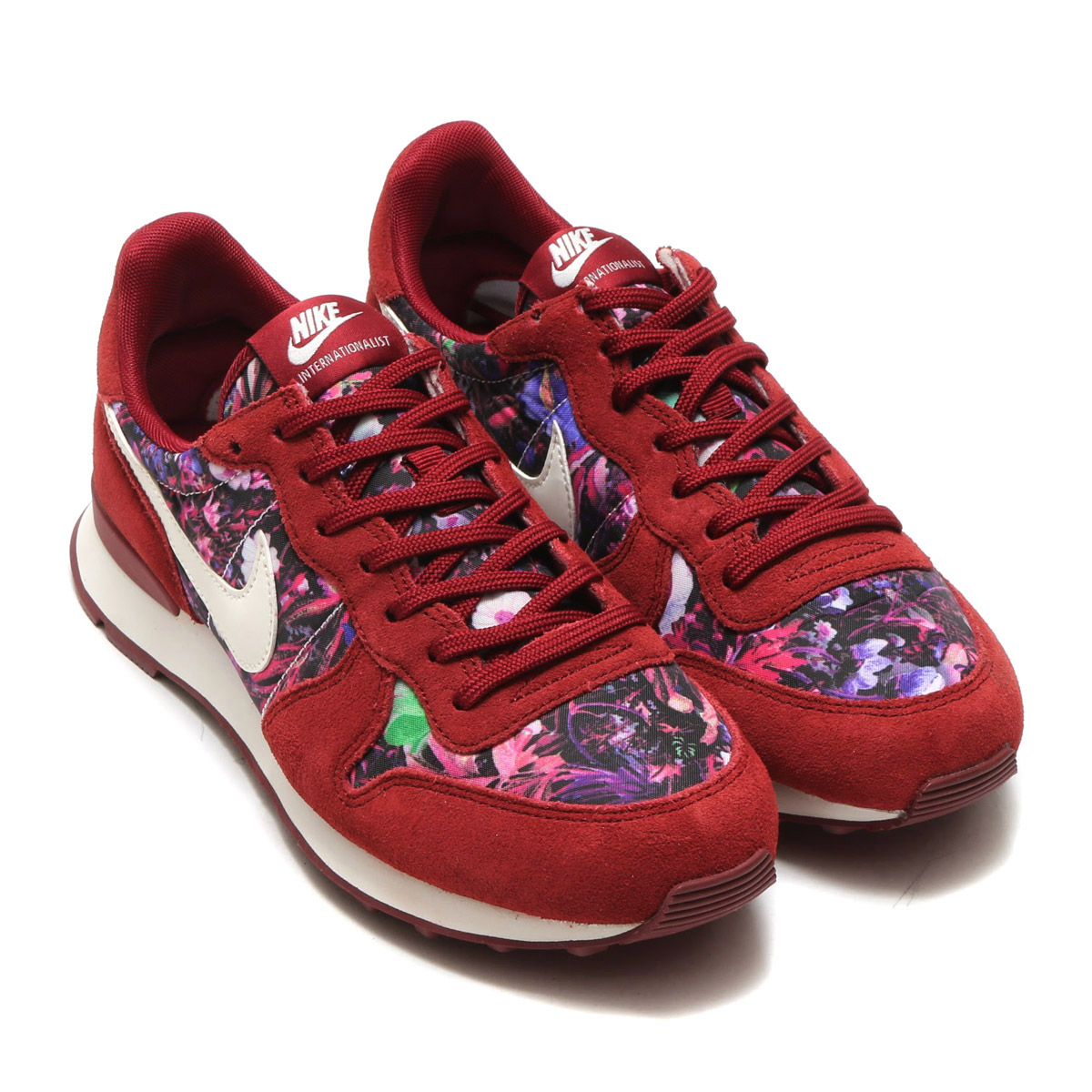 size 40 a2fa2 043e7 ... NIKE WMNS INTERNATIONALIST PRM (Nike women internationalist premium)  TEAM REDSAIL-TEAM ...