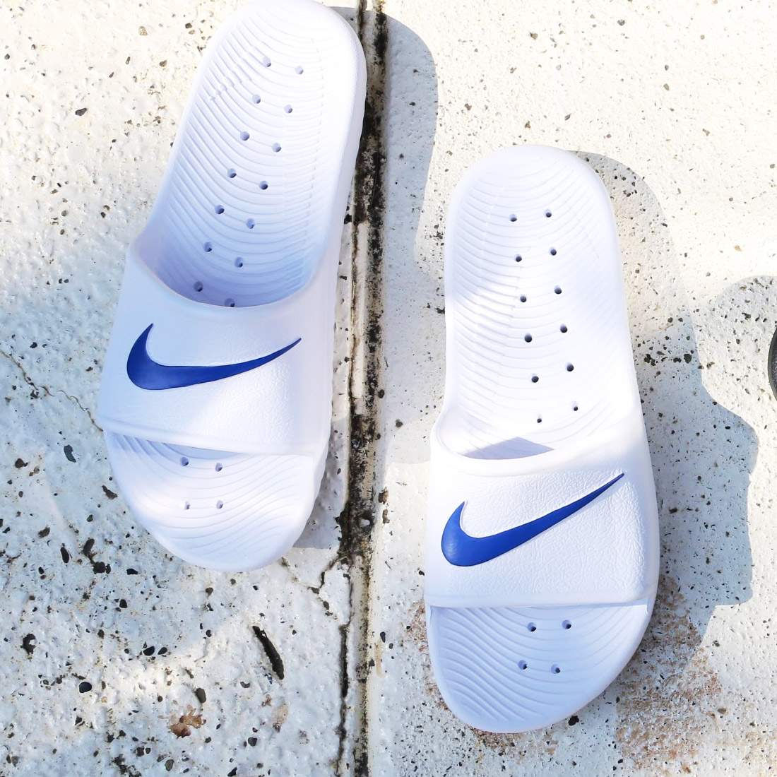 0473f54f9101c3 atmos pink  NIKE KAWA SHOWER (Nike kava shower) WHITE BLUE MOON 17SU ...