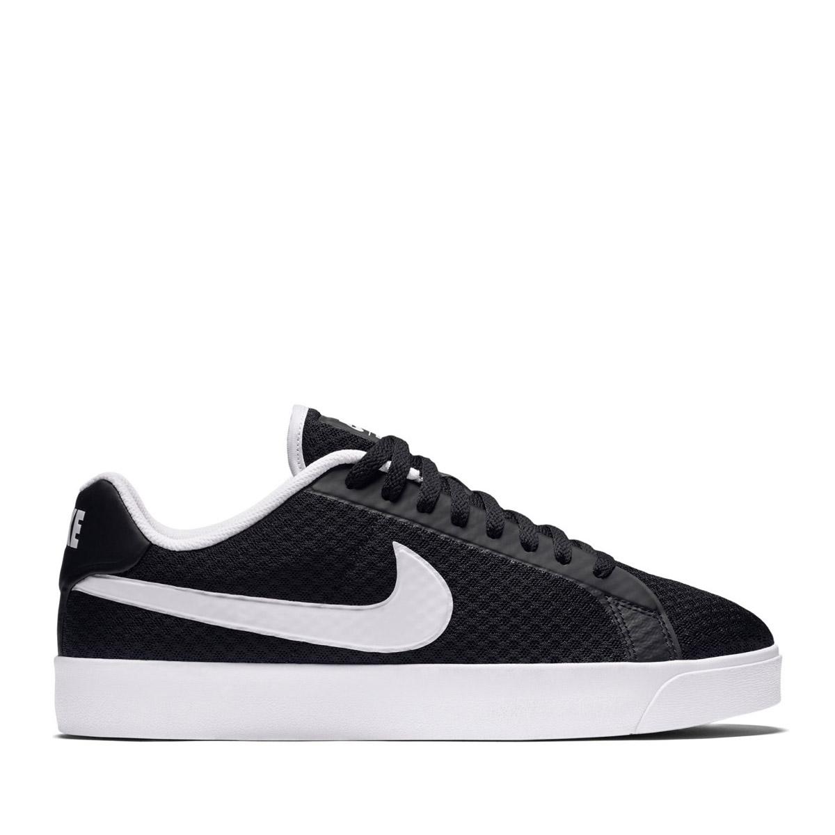 NIKE COURT ROYALE LW TXT (Nike coat royal LW textile) BLACK/WHITE 17SU-I