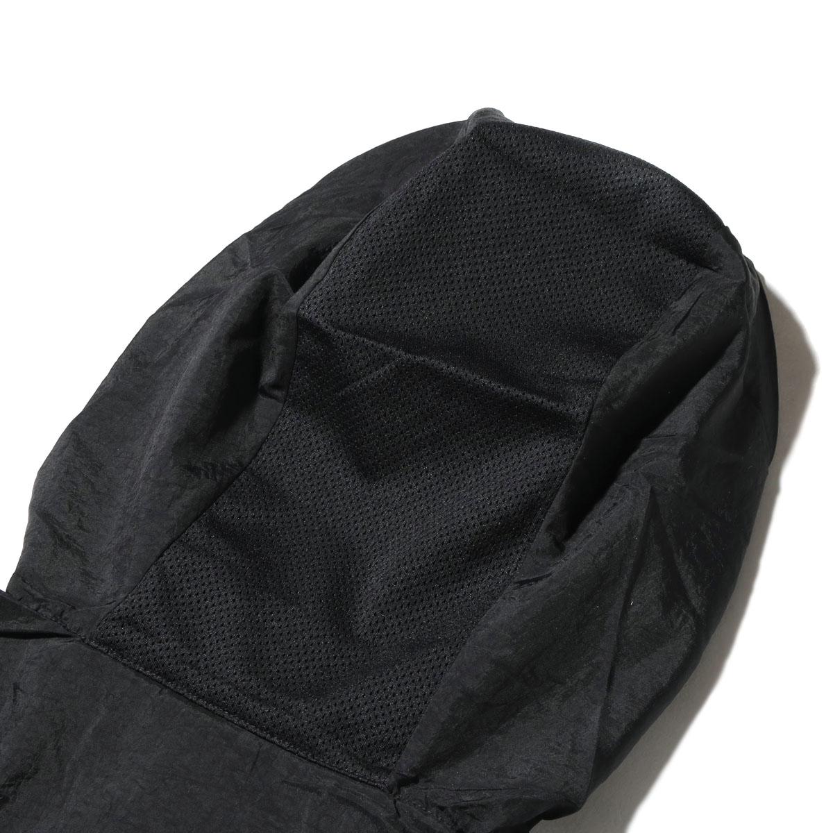 NIKE AS M NSW JKT HD WVN PKBL (ナイキウーブンパッカブルフーディジャケット) (BLACK/WHITE) 17SU-I