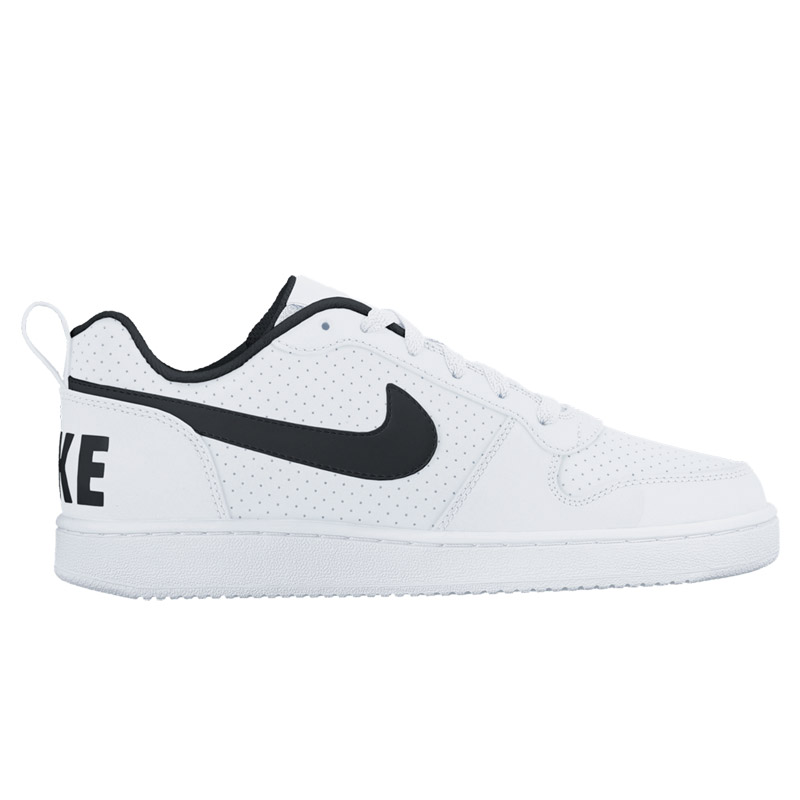 NIKE COURT BOROUGH LOW SL (Nike coat Barlow row SL) WHITE/BLACK 16FA-I