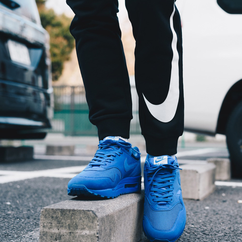 NIKE AIR MAX 1 PREMIUM(耐克空气最大1高级)(GAME ROYAL/GAME ROYAL-NEUTRAL GREY-WHITE)17SU-I