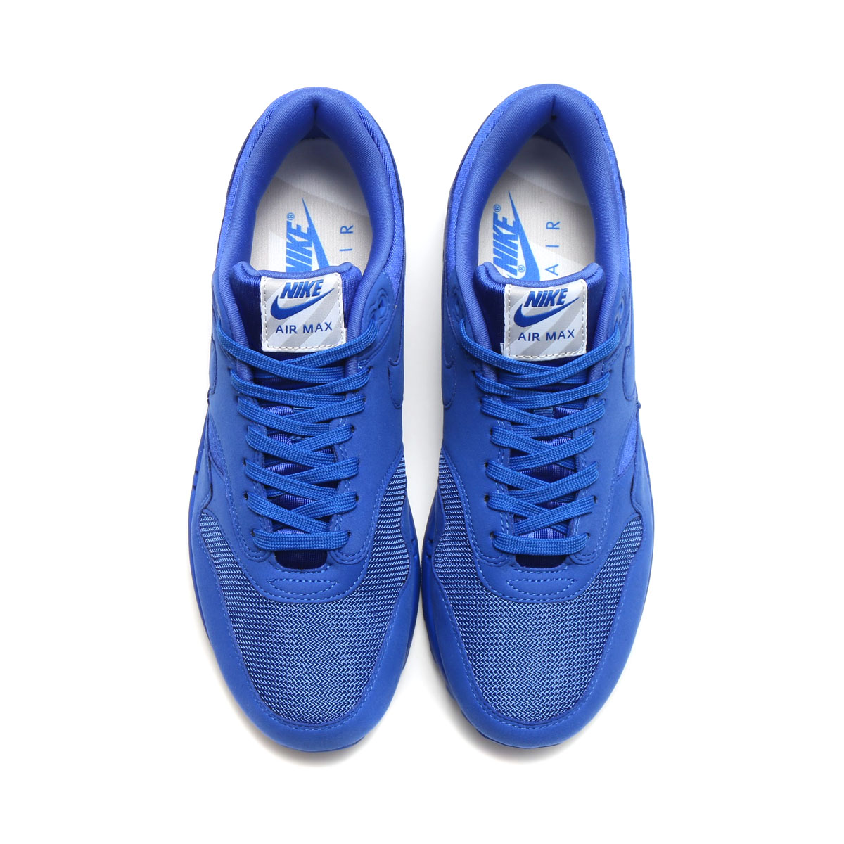 NIKE AIR MAX 1 PREMIUM (나이키 에어 막스 1 프리미엄) (GAME ROYAL/GAME ROYAL-NEUTRAL GREY-WHITE) 17 SU-I