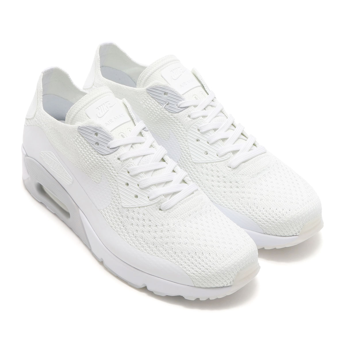 low priced 72c1a 86c45 nike air max flyknit white
