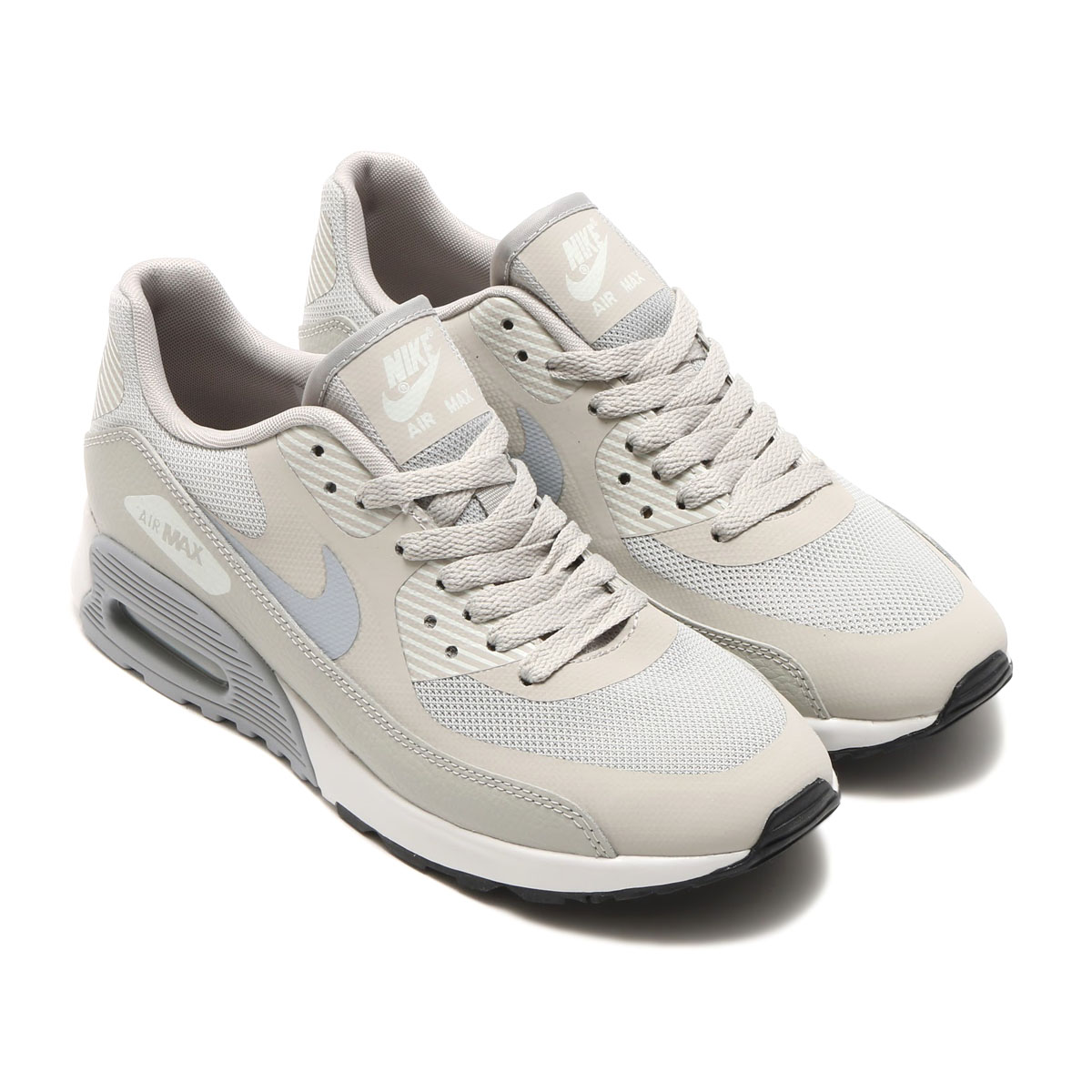new arrival f7388 ef82b NIKE WMNS AIR MAX 90 ULTRA 2.0 (Nike women Air Max 90 ultra 2.0) PALE  GREY/WOLF GREY-SUMMIT WHITE-BLACK 17SU-I