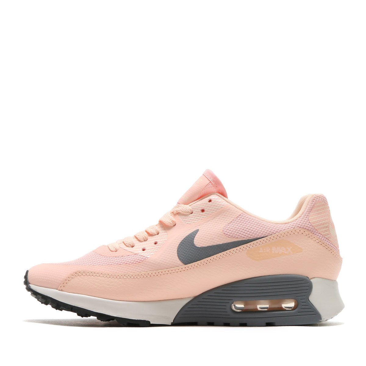 NIKE WMNS AIR MAX 90 ULTRA 2.0 (Nike women Air Max 90 ultra 2.0) SUNSET TINT/COOL GREY-SUMMIT WHITE-BLACK 17SU-I