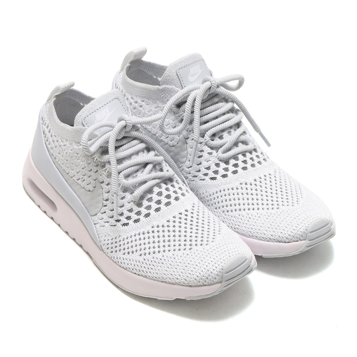 innovative design c7494 196ec NIKE WMNS AIR MAX THEA ULTRA FK (Nike women Air Max Shea ultra fly knit) PURE  PLATINUM PURE PLATINUM-WHITE 17SU-I