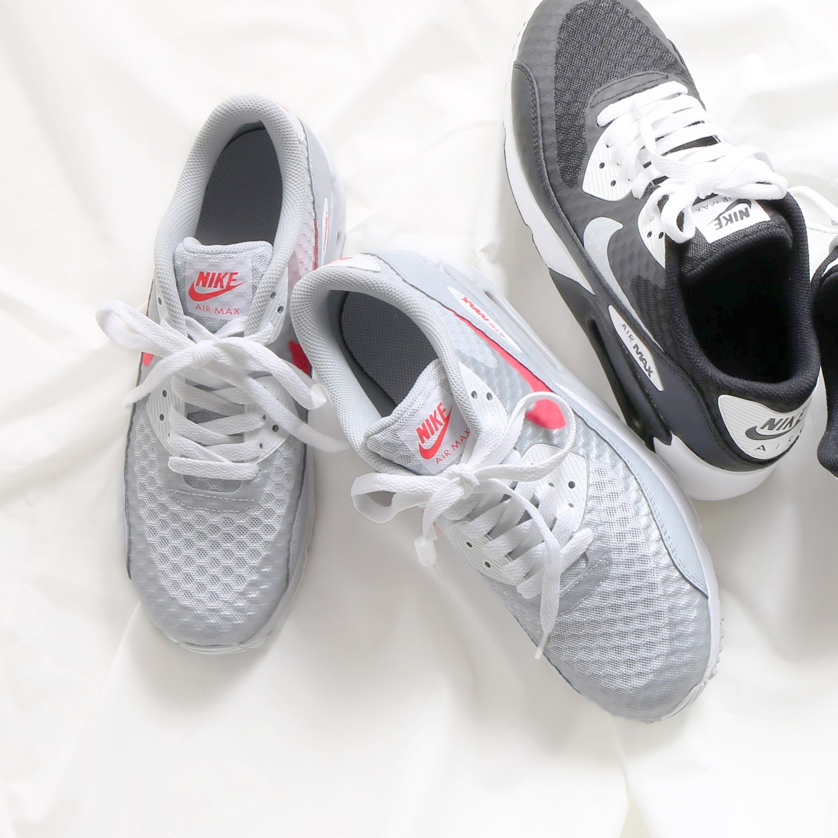 af350f82ddb NIKE AIR MAX 90 ULTRA 2.0 BR GS (Kie Ney AMAX 90 ultra 2.0 BR GS) PURE  PLATINUM RACER PINK-WHITE 17SU-I