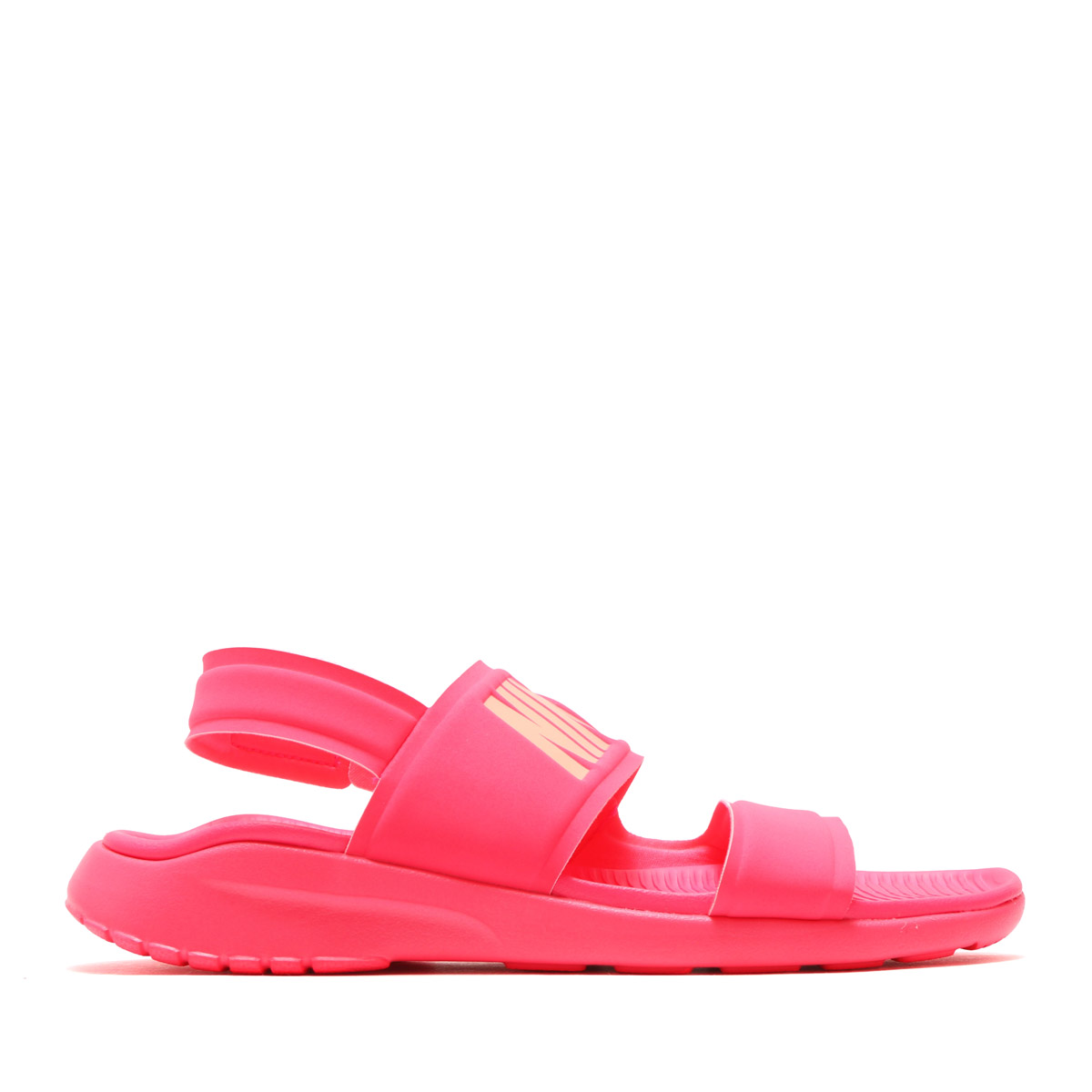8fa2f00f7f29 NIKE WMNS TANJUN SANDAL (Nike women tongue Jun sandals) RACER PINK SUNSET  GLOW 17SU-I
