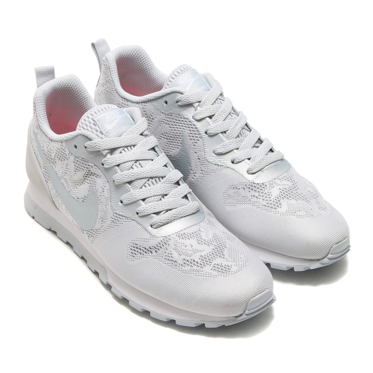 NIKE WMNS MD RUNNER 2 BR Nike women MD runner 2 BR WOLF GREY PURE  PLATINUMWHITE 17SUI
