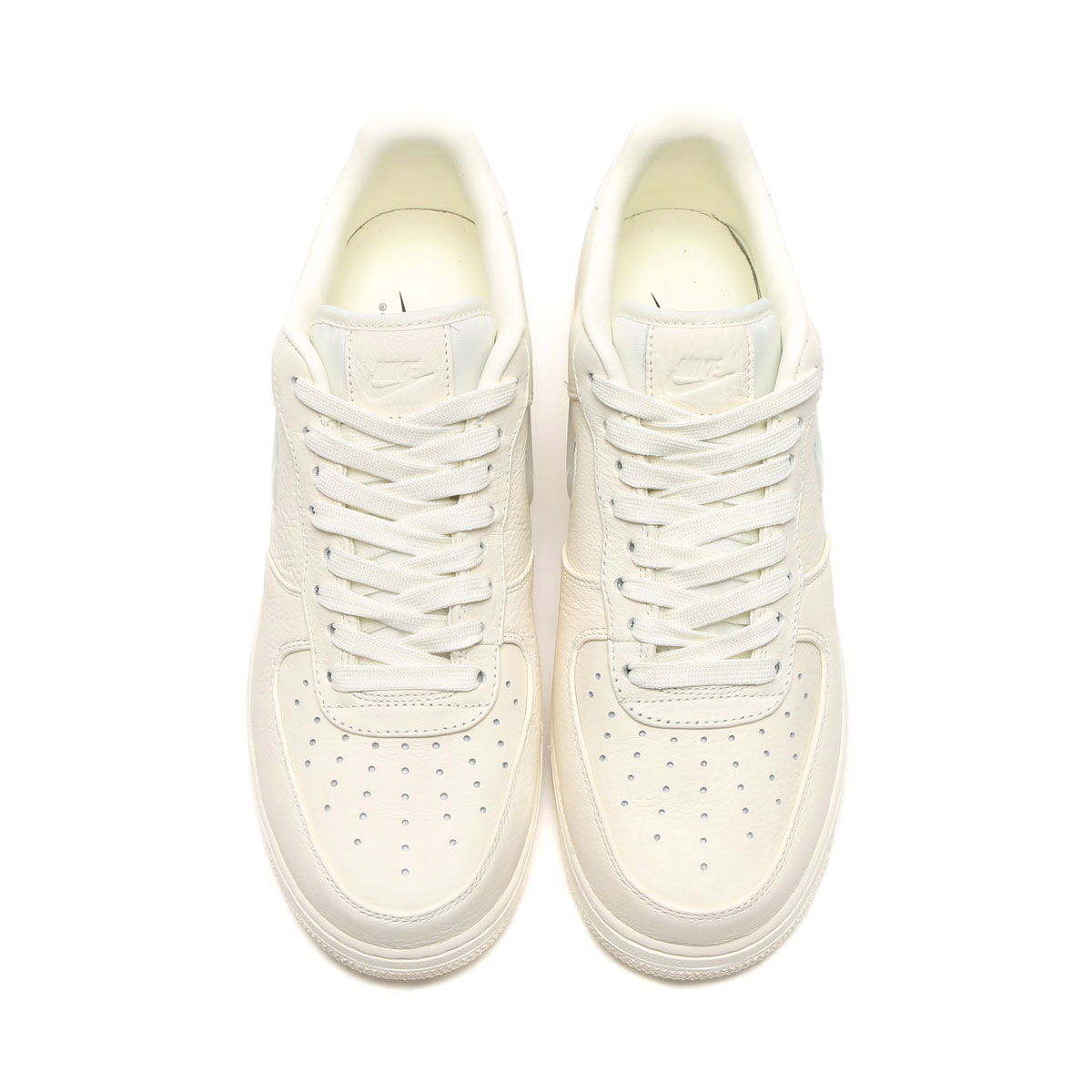 NIKE AIR FORCE 1 RETRO PRM (Nike air force 1 nostalgic premium) (SAIL/SAIL-SAIL) 17SU-I