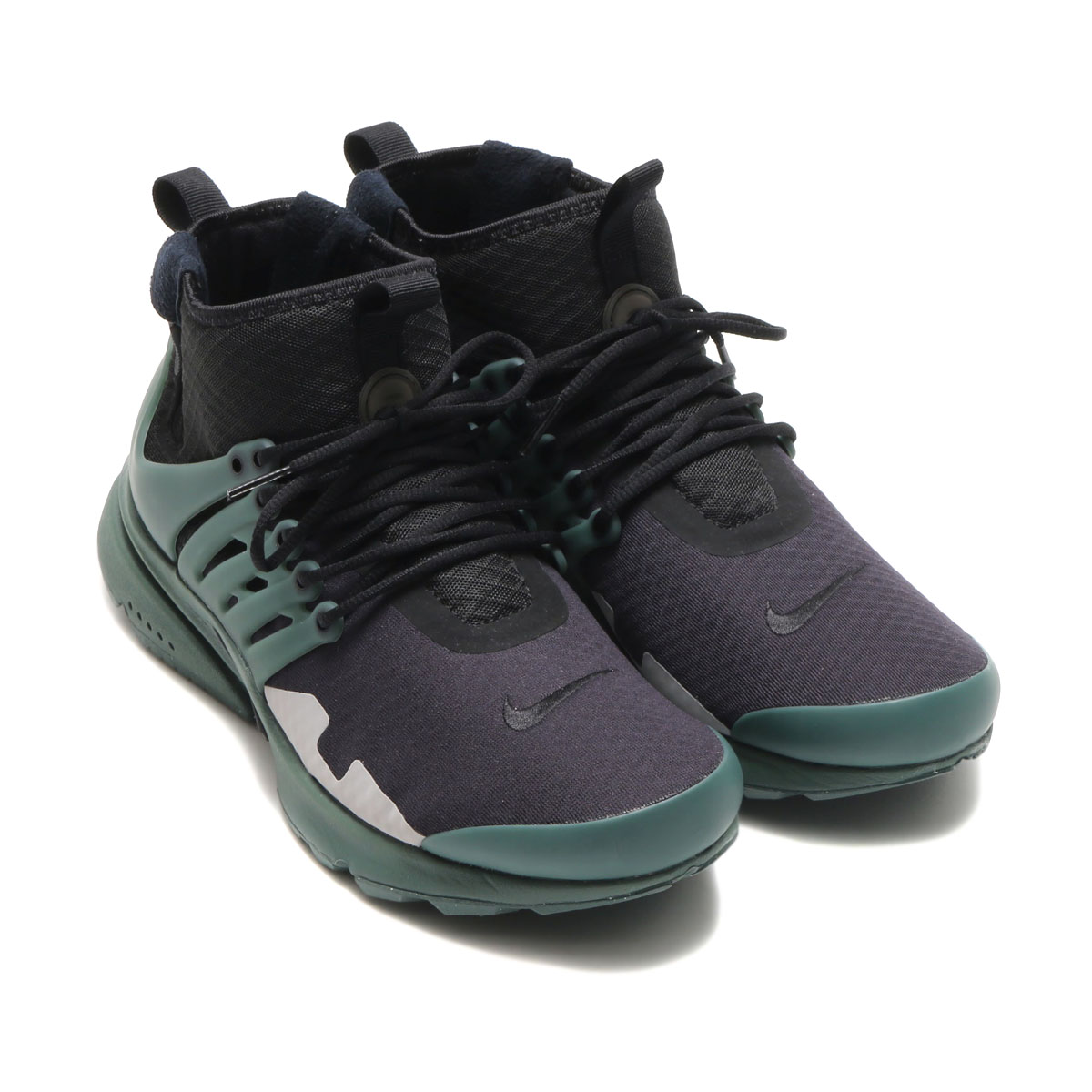 It is ♪ NIKE AIR PRESTO MID SP (Kie Ney apr strike mid SP) (BLACK/VINTAGE  GREEN-FLT SILVER) 17SU-I until 9:59 for ☆ 21 days during the up to 2,000  yen OFF ...