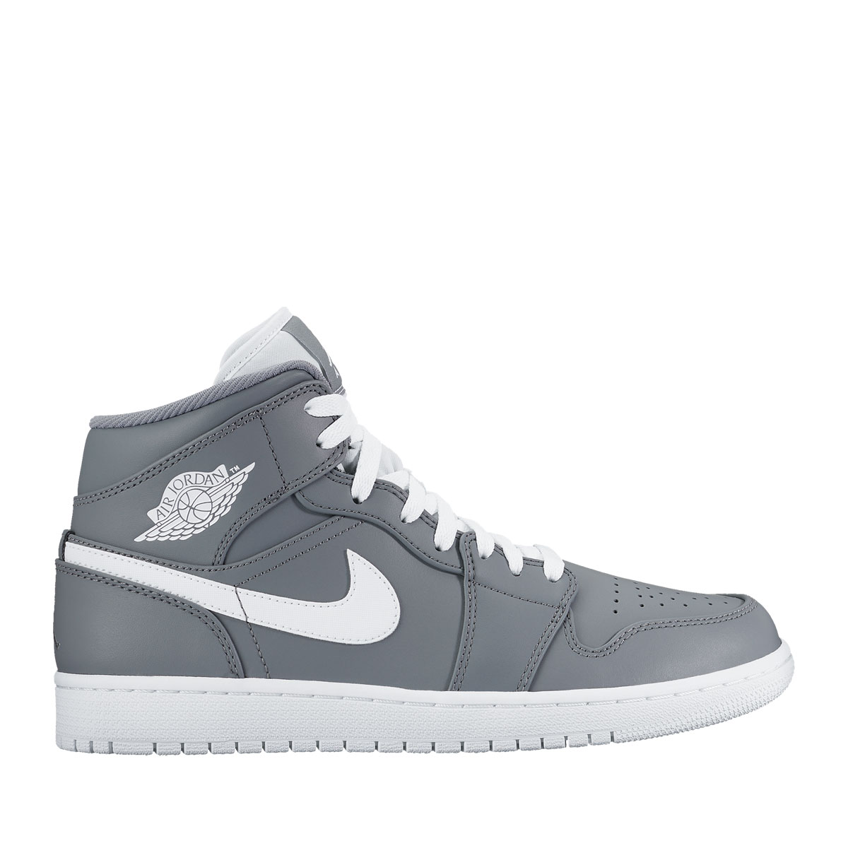 online store 32492 2eb8d MID cut version of Air Jordan 1 who it was first sig nature shoes of Michael  Jordan, and became the first model of the Air Jordan series.