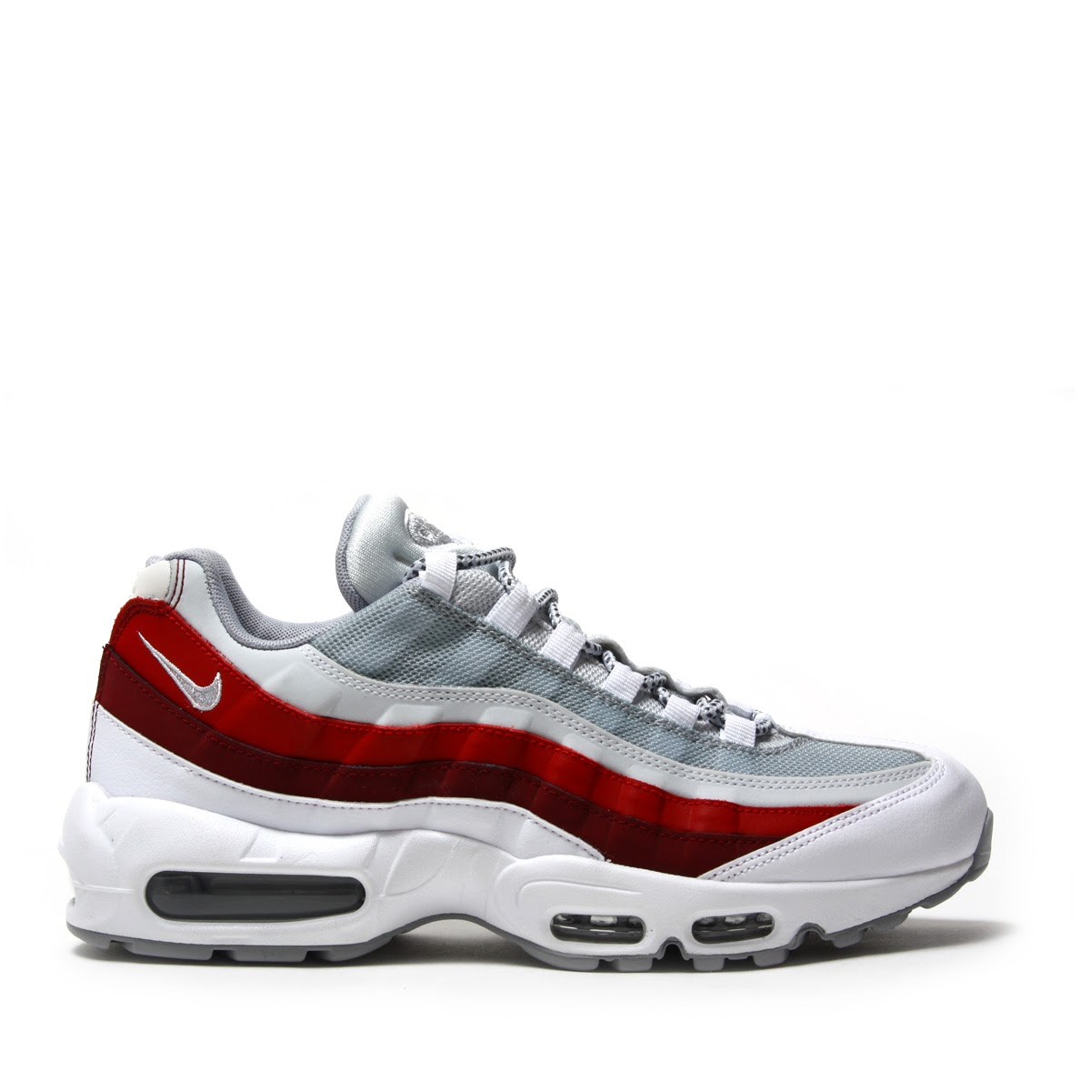 check out 41b3c f4997 ... NIKE AIR MAX 95 ESSENTIAL (Kie Ney AMAX 95 essential) WHITE WOLF GREY  ...