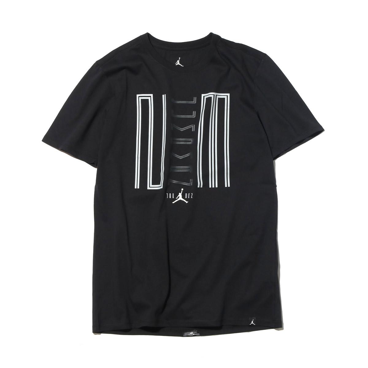 d9a52c5af3ae7e NIKE AJ 11 JUMPMAN 23 TEE (Nike Jordan AJ 11 jump man 23 S S T-shirt)  (BLACK WHITE) 17SU-I