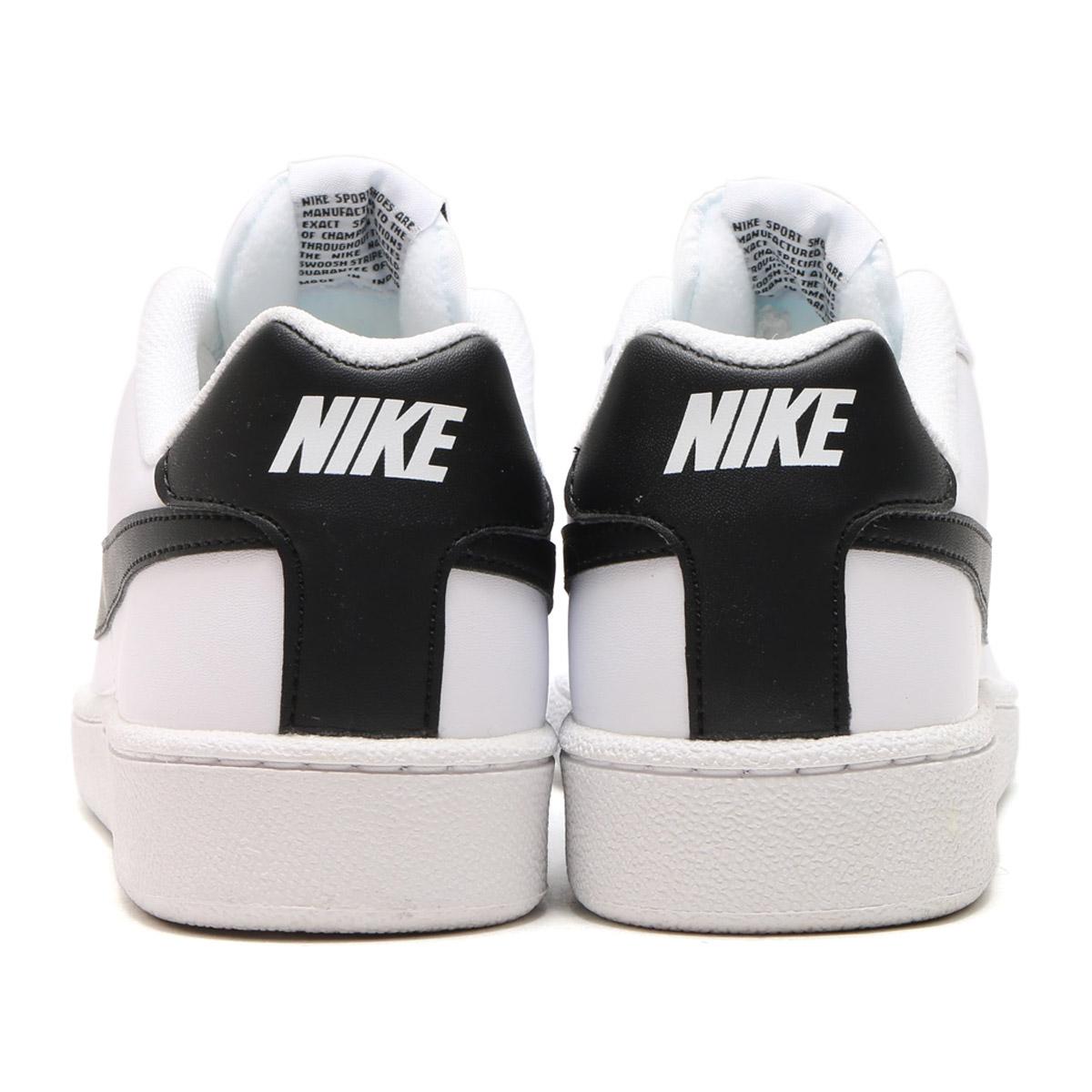 NIKE COURT ROYALE SL (나이키 코트 로얄 SL) WHITE/BLACK 16FA-I