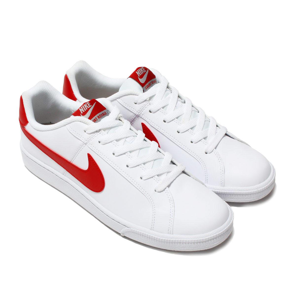 atmos pink  NIKE COURT ROYALE SL (Nike coat royal SL) WHITE GYM RED ... cb13c5f1e2a3