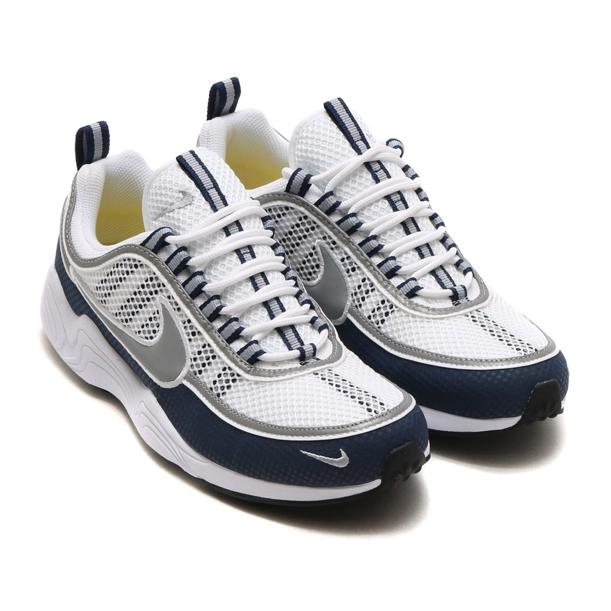 dda0916ace5a9 NIKE AIR ZOOM SPRDN (Nike air zoom pyridone) (WHITE SILVER-LIGHT MIDNIGHT)  17SU-S