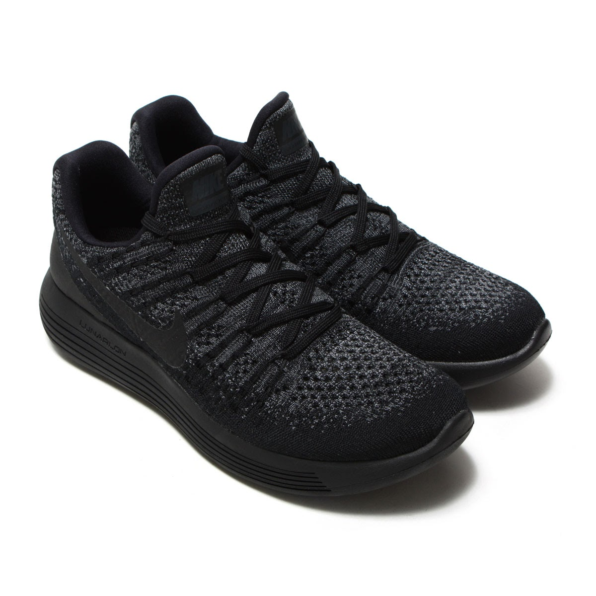 458f9e7a7de ... aliexpress nike w lunarepic low flyknit 2 nike women luna epic loaf rye  knit 2 black