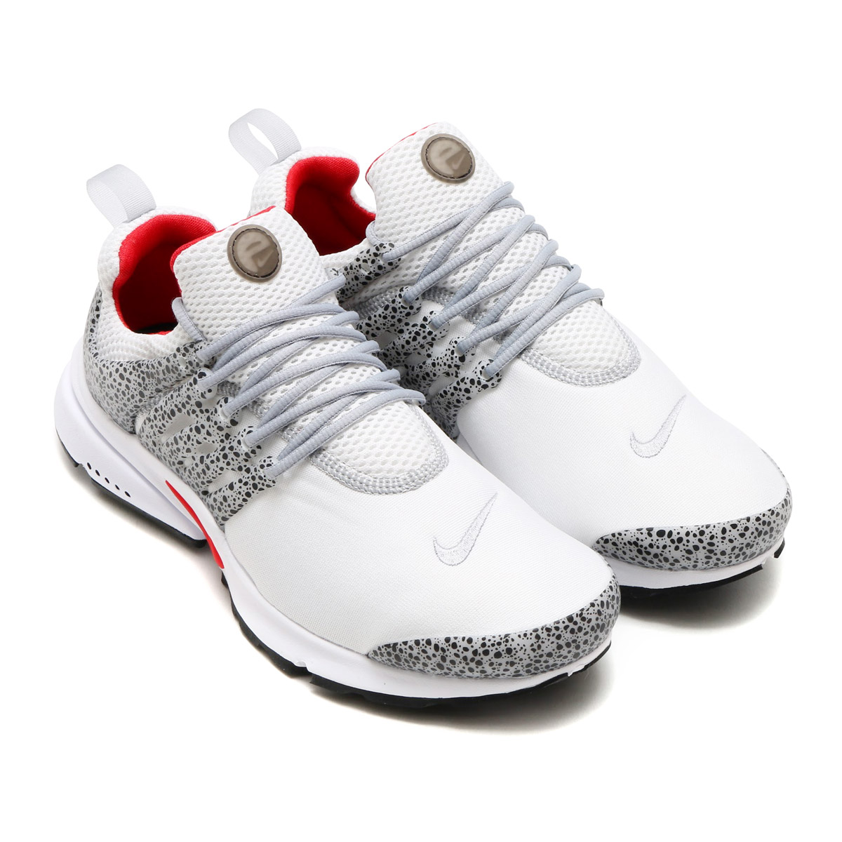 NIKE AIR PRESTO QS (나이키 에어 프레스토 QS) (WHITE/UNIVERSITY RED-PURE PLATINUM-BLACK) 17 SU-S