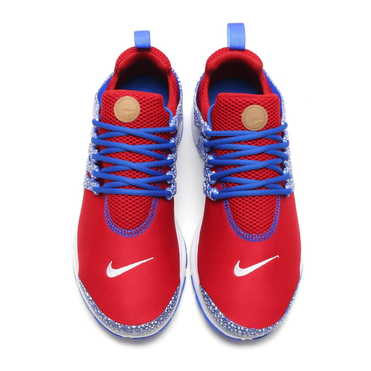 separation shoes 79717 a61f6 NIKE AIR PRESTO QS (Kie Ney apr strike QS) (GYM RED RACER BLUE-WHITE) 17SU-S