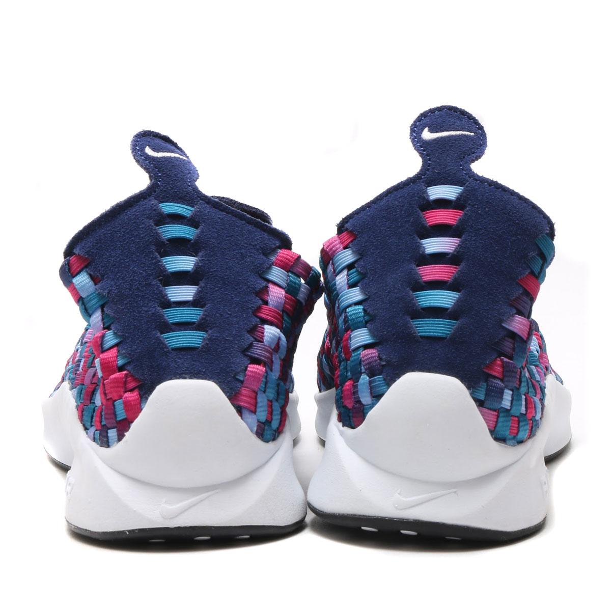 NIKE AIR WOVEN PRM (grr premium Nike air) (BINARY BLUE/WHITE-GREEN ABYSS) 17SU-S