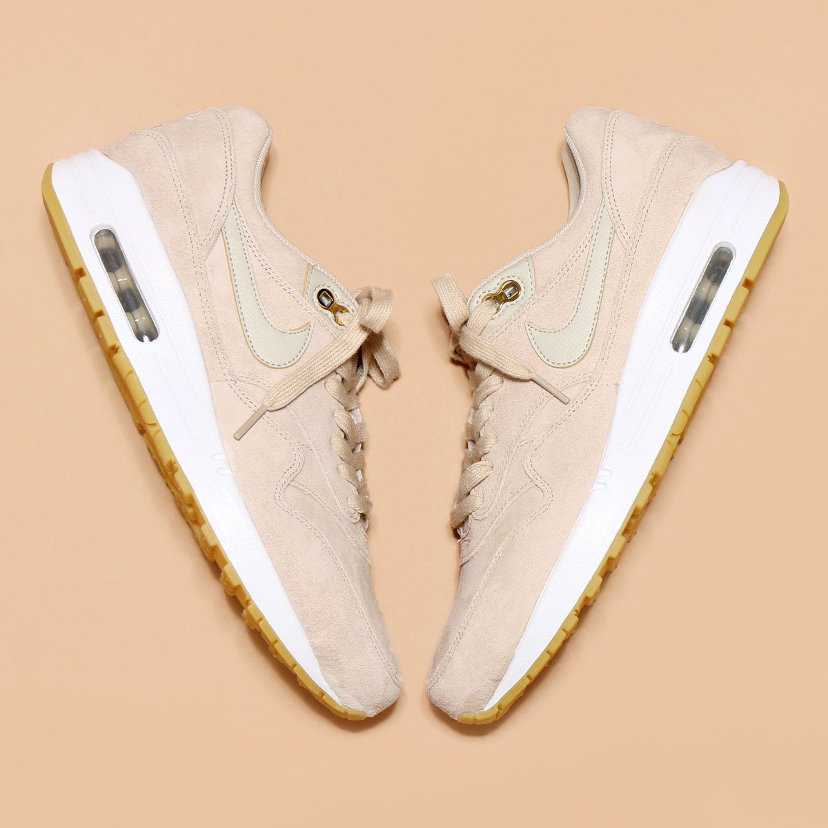NIKE WMNS AIR MAX 1 SD (나이키 womens 에어 막스 1 SD) (OATMEAL/OATMEAL-WHITE-GUM LIGHT BROWN) 17 SU-S