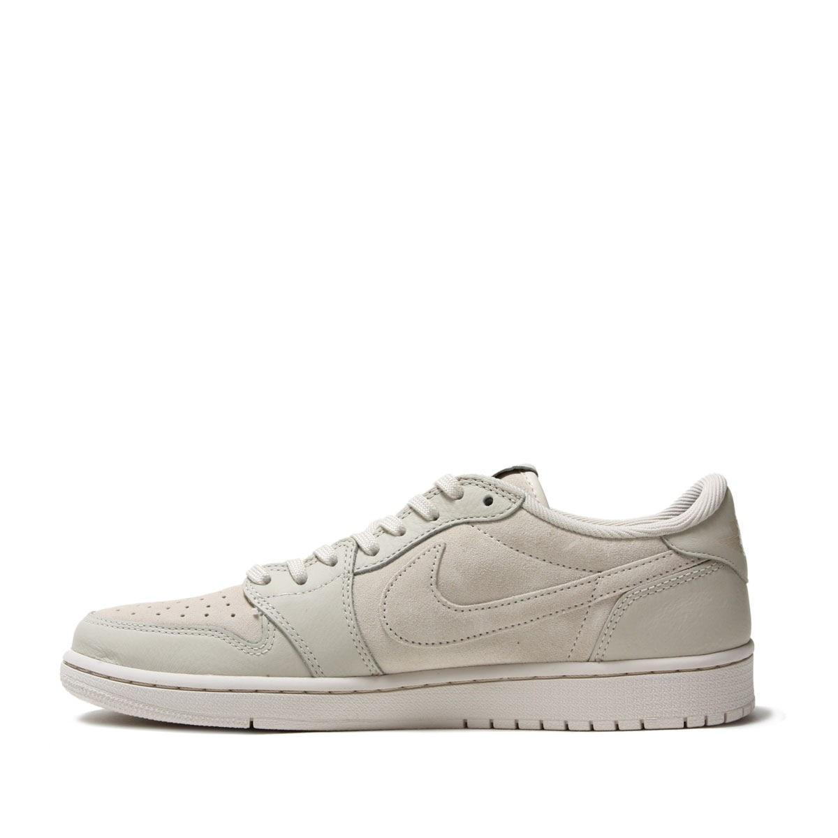NIKE AIR JORDAN 1 LOW PREM (Nike Air Jordan 1 low premium) LT OREWOOD  BRN/LT OREWOOD BRN 17FA-I