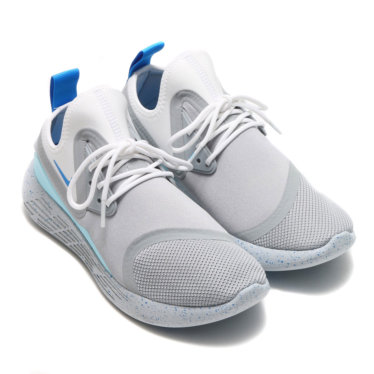 NIKE LUNARCHARGE BN (나이키 루나 요금 BN) (WOLF GREY/PHOTO BLUE-WHITE) 17 SU-S