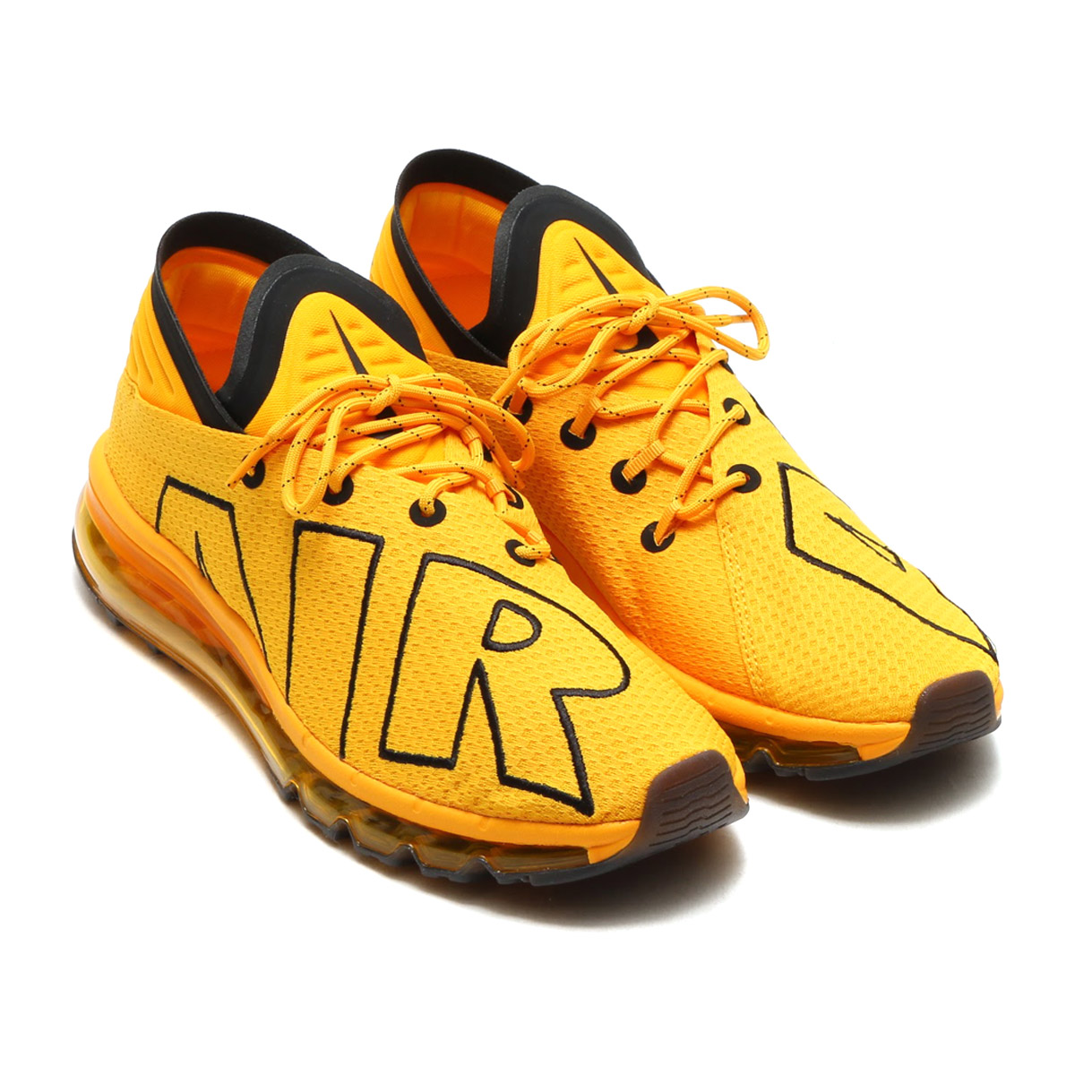 NIKE AIR MAX FLAIR (Kie Ney AMAX flare) (UNIVERSITY GOLD/BLACK) 17FA-S