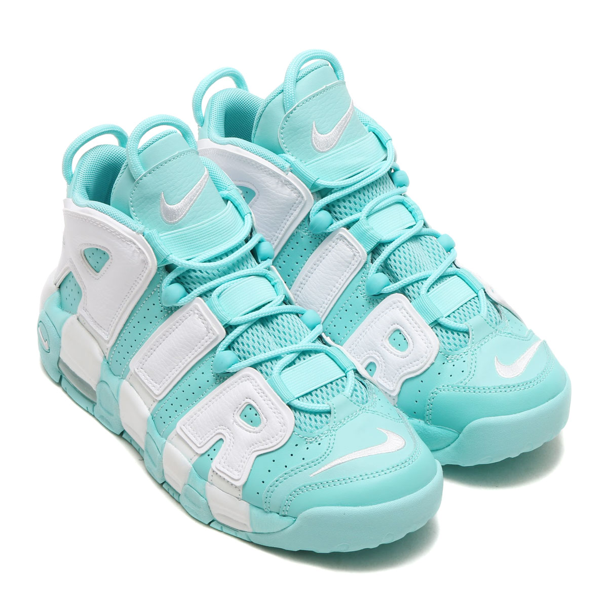 newest 8394b 3523a ... nike air more uptempo gs (nike air more up tempo gs) (island green