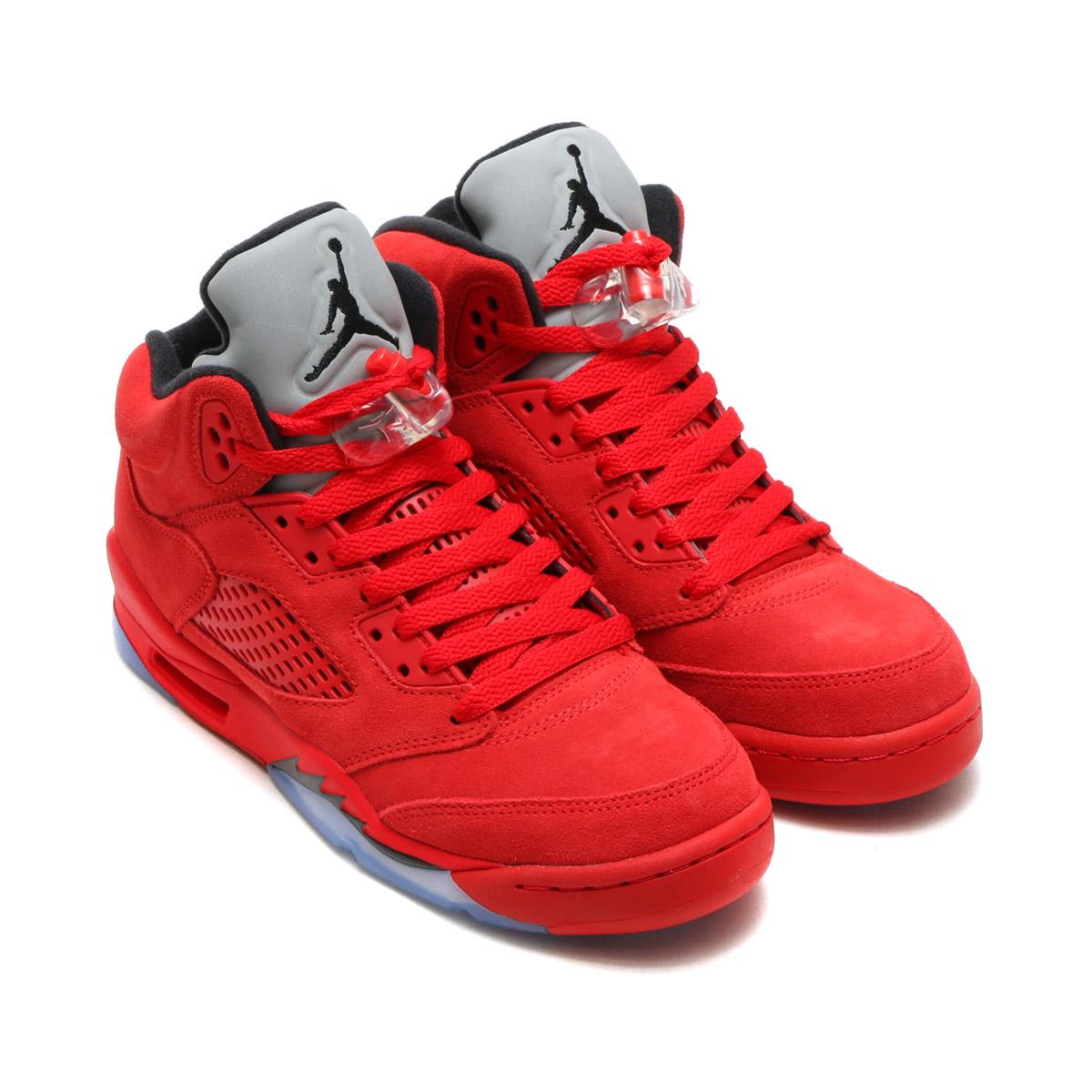 e7a6eb36ad NIKE AIR JORDAN 5 RETRO BG (Nike Air Jordan 5 nostalgic BG) (UNIVERSITY  RED/BLACK-UNIVERSITY RED) 17FA-S