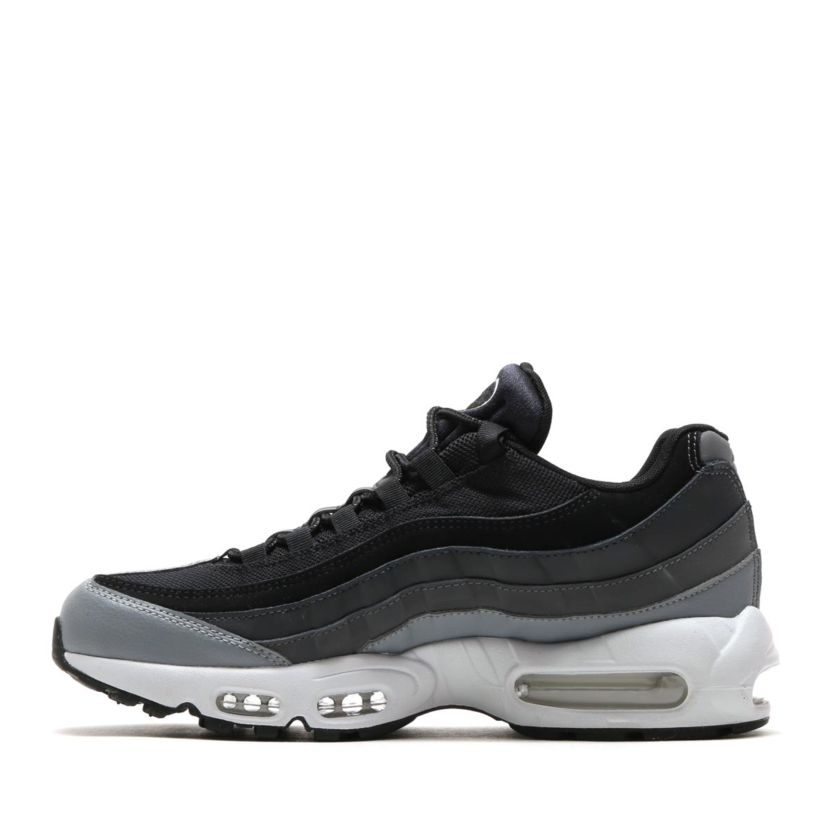 8f82e6d5013 NIKE AIR MAX 95 ESSENTIAL (Kie Ney AMAX 95 essential) BLACK BLACK-ANTHRACITE -DARK GREY 17FA-I