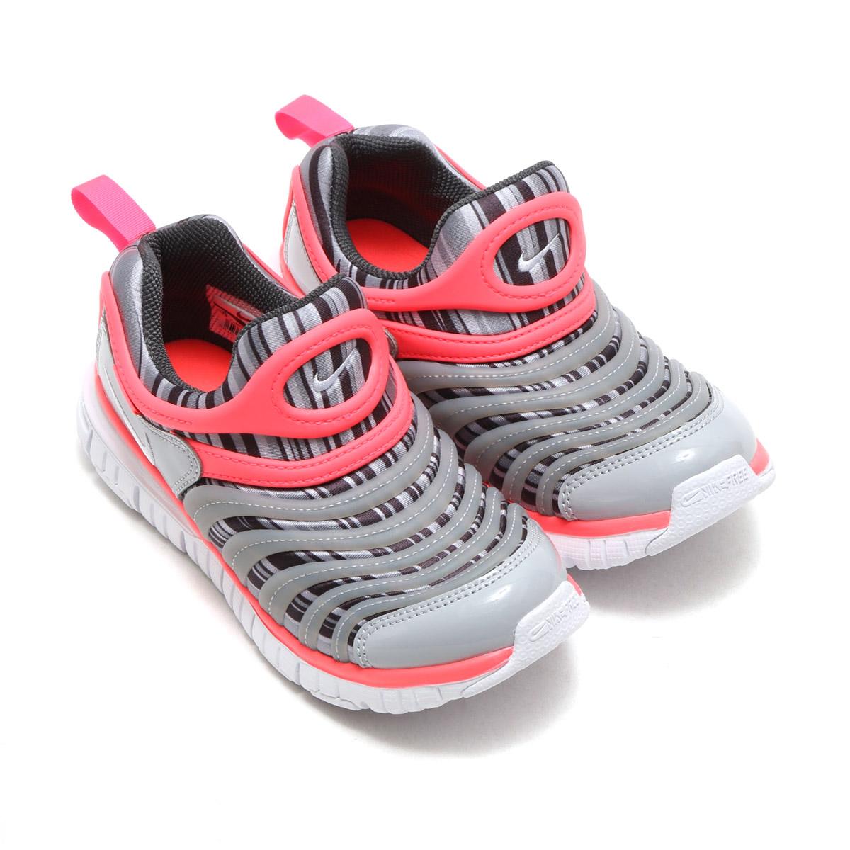 c6616426dac14 NIKE DYNAMO FREE PRINT (PS) (Nike dynamo-free print PS) ANTHRACITE WHITE-HOT  PUNCH-WOLF GREY 17FA-I