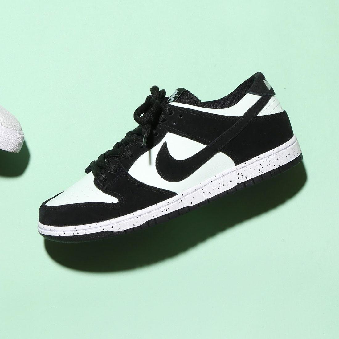new style 8e9a9 88c5b NIKE SB ZOOM DUNK LOW PRO (Nike Nike SB zoom dunk low pro) (BLACK BLACK-BARELY  GREEN-WHITE) 17FA-S