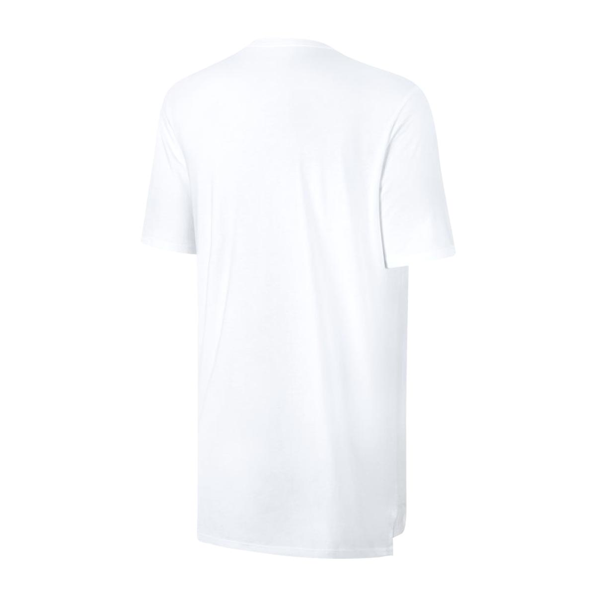NIKE AS M NSW TEE DRPTL OVRSZ SWSH (나이키드롭테이르오바사이즈스웃슈 T셔츠) WHITE/BLACK 17 FA-I