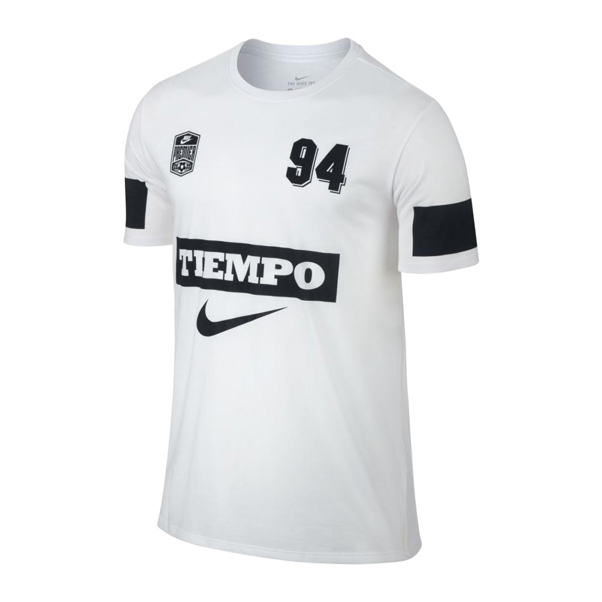 NIKE AS M NK TEE TIEMPO 94(耐克TIEMPO 94 S/S T恤)WHITE 17FA-I