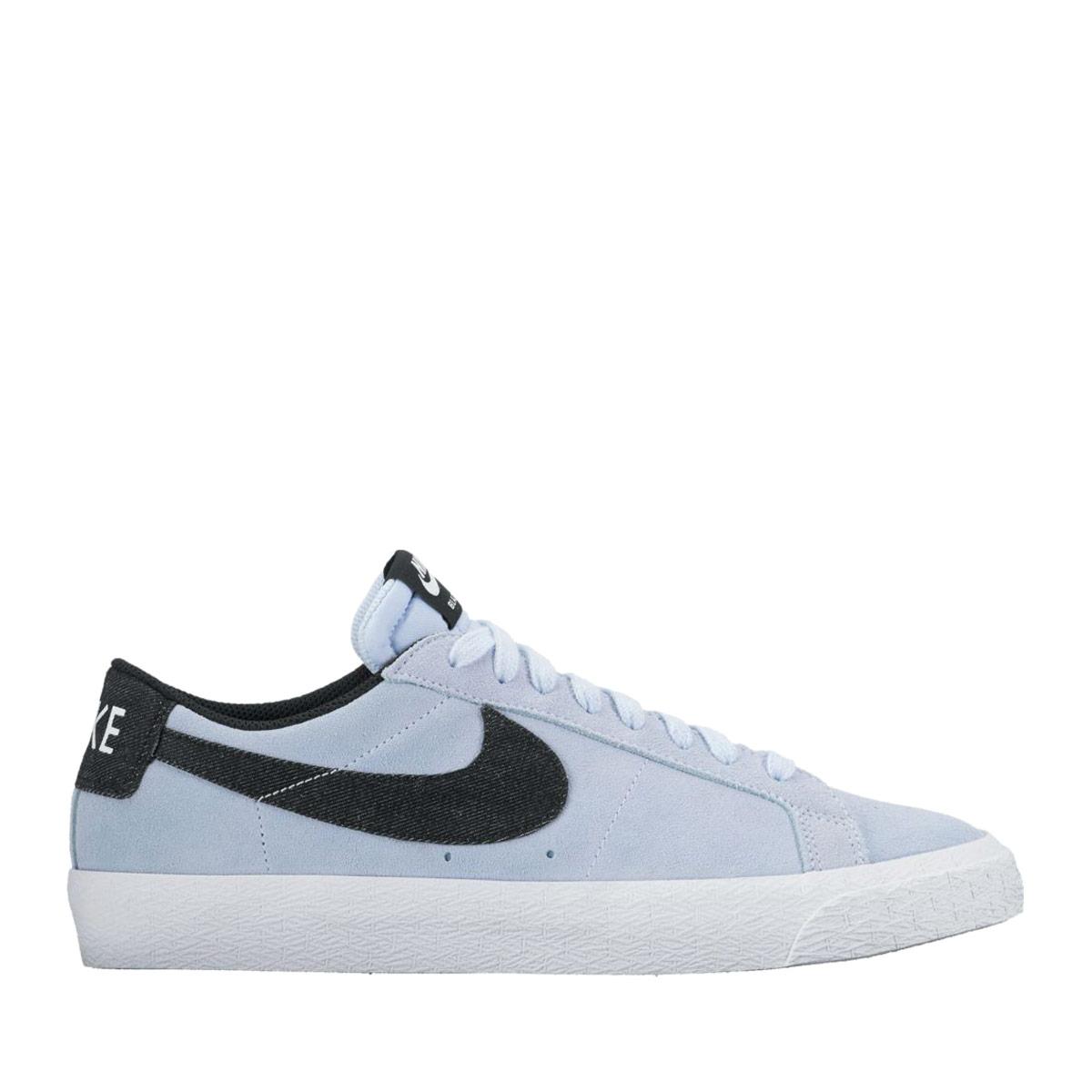 buy popular 6e90d b83f8 NIKE SB ZOOM BLAZER LOW (Nike Nike SB ズームブレーザーロー) HYDROGEN BLUE/BLACK-WHITE  17FA-I