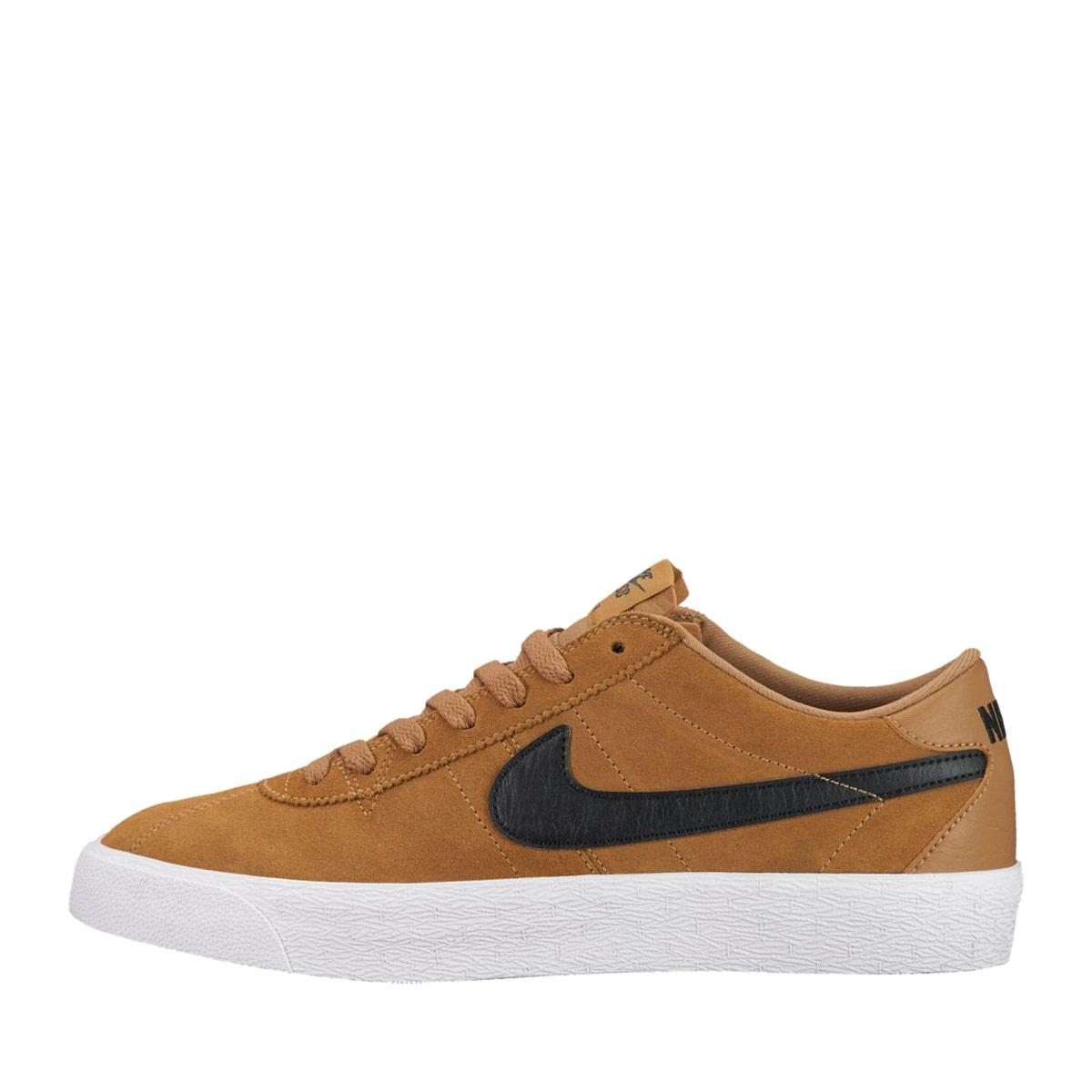 size 40 56a7b edb0b NIKE SB BRUIN ZOOM PRM SE (Nike Nike SB bulldog in zoom premium SE) GOLDEN  BEIGE BLACK-WHITE-BLACK 17FA-I