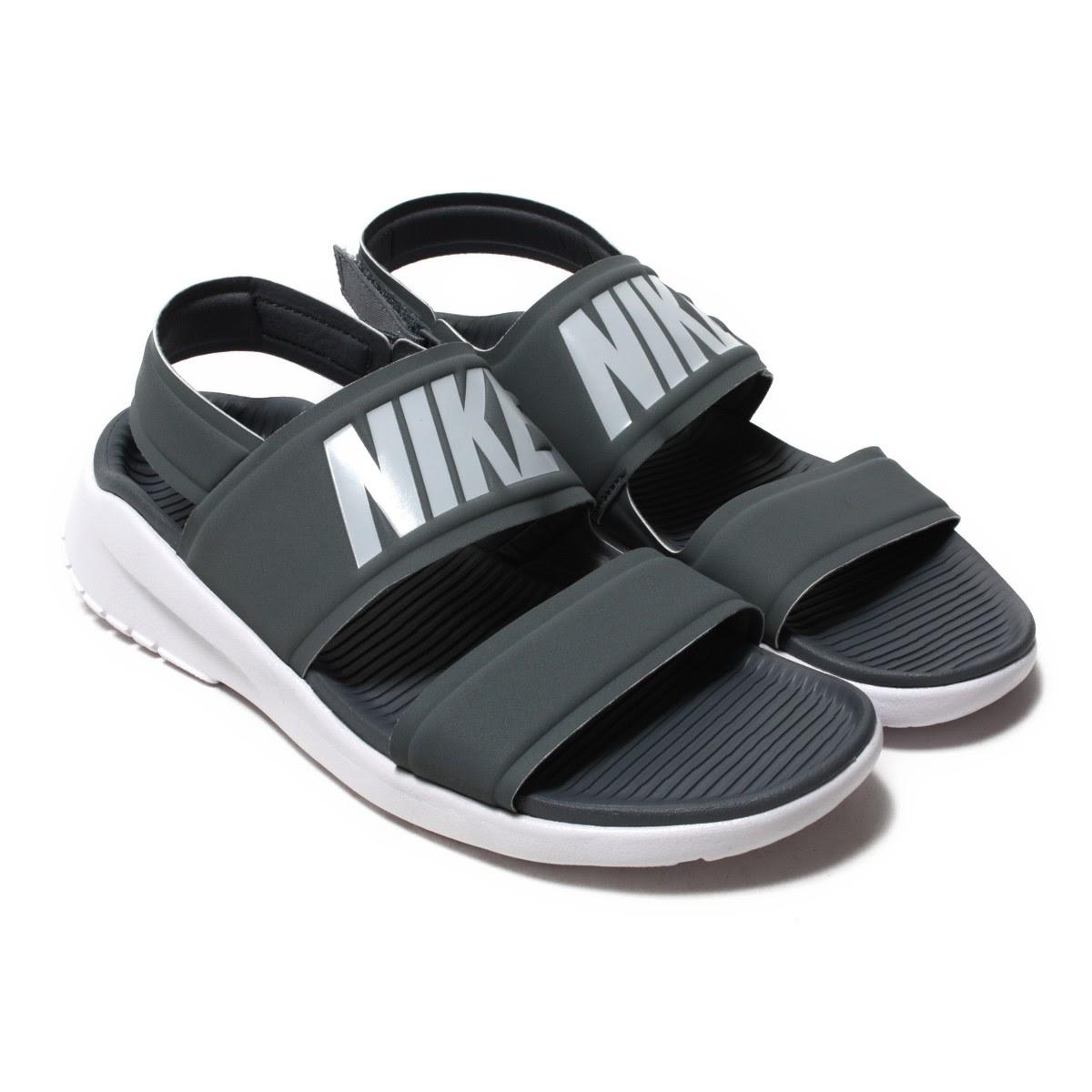 0750dc193de NIKE WMNS TANJUN SANDAL (Nike women tongue Jun sandals) COOL GREY PURE  PLATINUM-WHITE 17FA-I