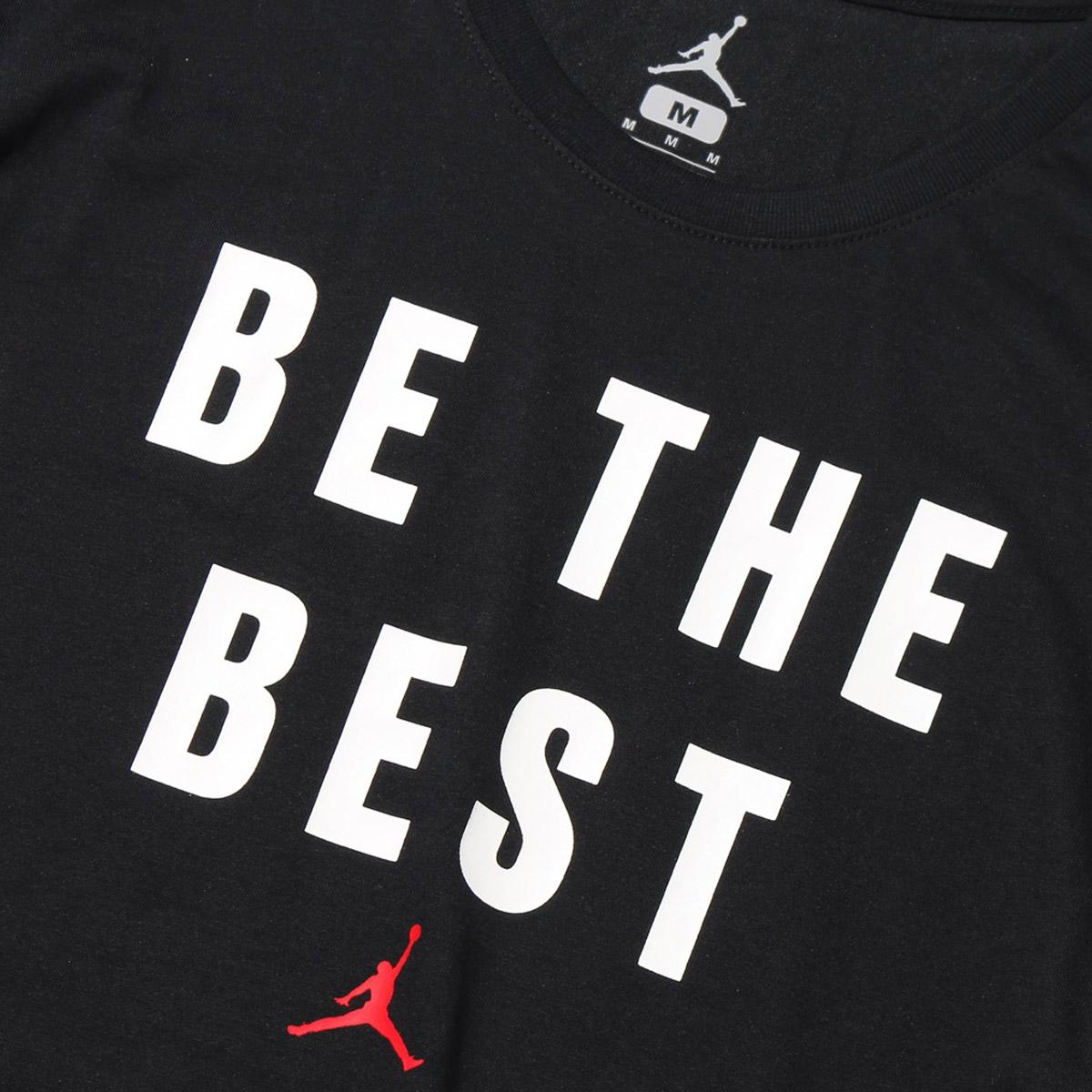 c31e00d55ce87c NIKE BEAT THE BEST DRI-FIT TEE (Jordan BEAT THE BEST S S T-shirt)  BLACK (UNIVERSITY RED) 17FA-I