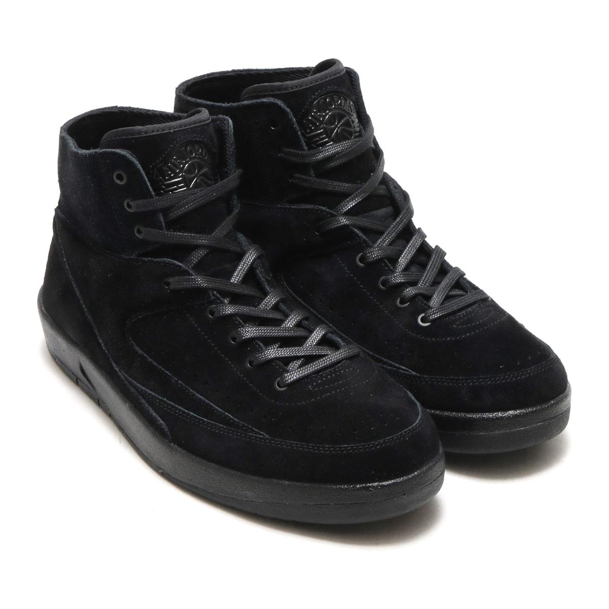 timeless design 89619 e4c4a NIKE AIR JORDAN 2 RETRO DECON (Nike Air Jordan 2 nostalgic DECON)  (BLACK/BLACK) 17FA-S