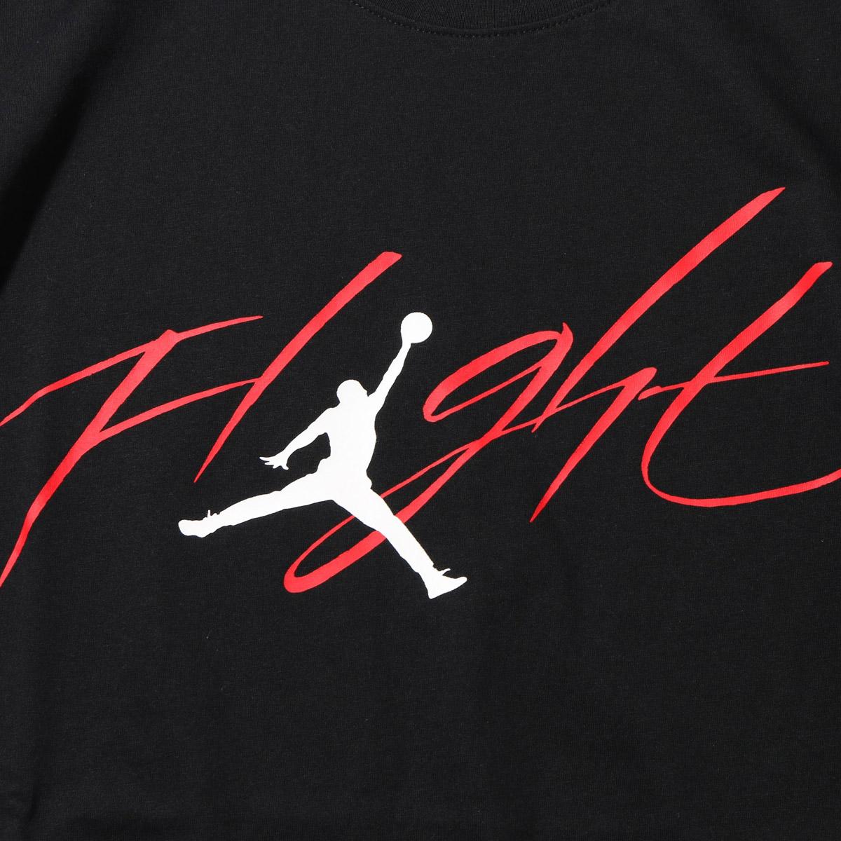 NIKE M JSW TEE BRAND 4 Jordan Flight GFX S T Shirt BLACK UNIVERSITY RED WHITE 17FA I